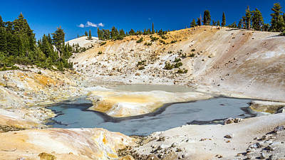 Photograph - Bumpass Hell Volcanic Landscape by Pierre Leclerc Photography