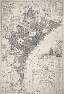 City Map Photograph - Bunarus by British Library