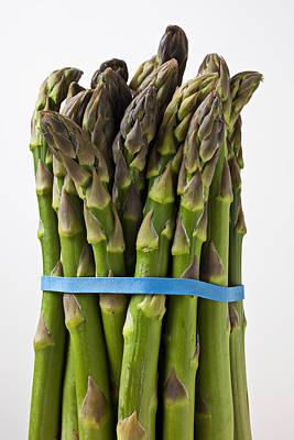 Asparagus Photograph - Bunch Of Asparagus  by Garry Gay