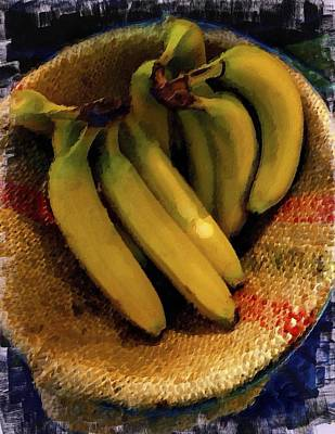 Painting - Bunch Of Bananas by Joan Reese