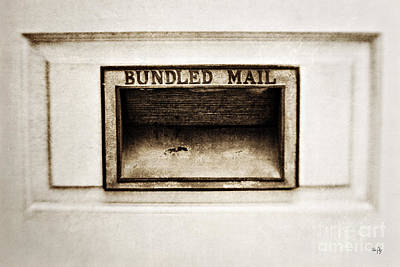 Bundled Mail Art Print by Scott Pellegrin