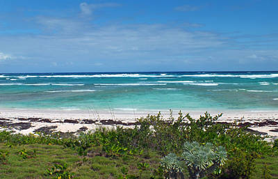 Photograph - Bungalow Beach 3 On Eleuthera by Duane McCullough