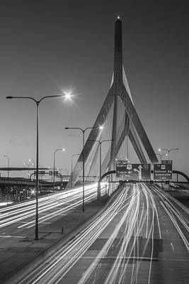 Photograph - Bunker Hill Bridge  by John McGraw