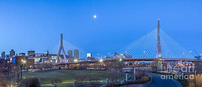 Photograph - Bunker Hill Bridge Panorama by Susan Cole Kelly