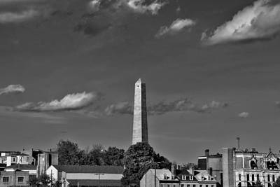 Photograph - Bunker Hill Monument 4 by Joann Vitali