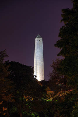 Bunker Hill Monument - Boston Print by Joann Vitali