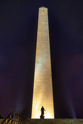 Photograph - Bunker Hill Monument by Joann Vitali