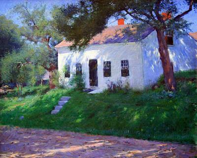 Dennis Miller Wall Art - Photograph - Bunker's Roadside Cottage by Cora Wandel