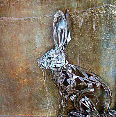 Photograph - Bunny Art by AJ  Schibig