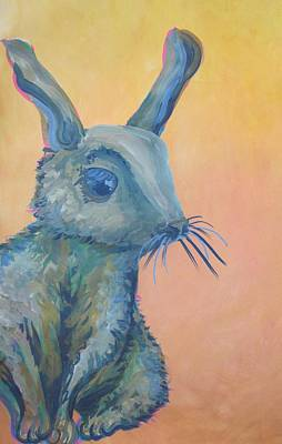Painting - Bunny by Cherie Sexsmith