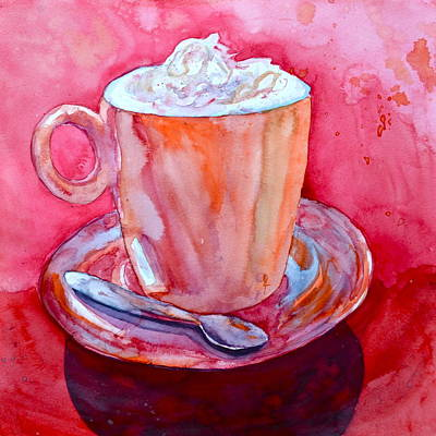 Espresso Painting - Buon Appetito by Beverley Harper Tinsley