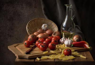 Lunch Photograph - Buon Appetito... by Margareth Perfoncio