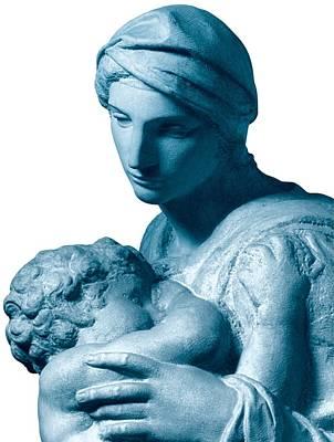 Buonarroti Michelangelo, Medici Print by Everett
