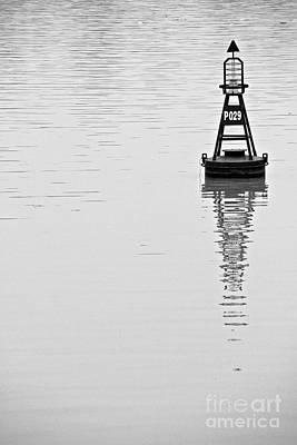 Photograph - Buoy by David Warrington