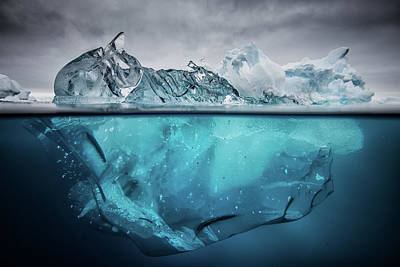 Antarctica Photograph - Buoyancy by Justin Hofman
