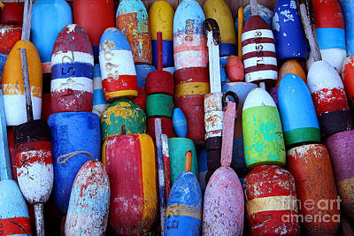 Photograph - Buoys by Adrian LaRoque