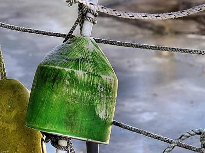 Photograph - Buoys And Rope by Janice Drew
