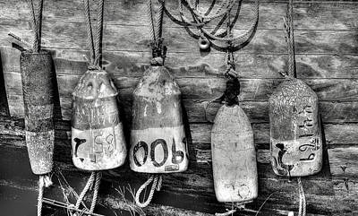 Photograph - Buoys by Dawn J Benko