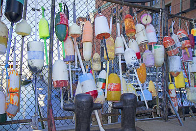 Gear Photograph - Buoys by Betsy Knapp