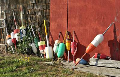 Photograph - Buoys by Jean Goodwin Brooks