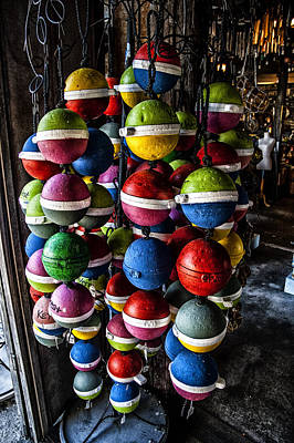 Photograph - Buoys Of Color by Kevin Cable