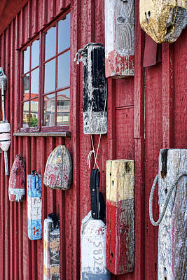 Photograph - Buoys On Motif 1 by Nikolyn McDonald