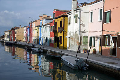 Art Print featuring the photograph Burano Italy by John Jacquemain