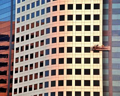 Photograph - Burbank Window Cleaning by Benjamin Yeager