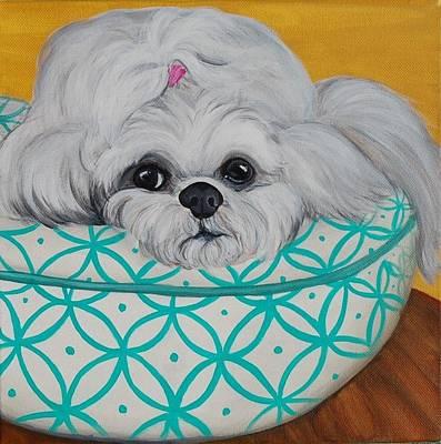 Burberry Art Print by Lauren Hammack