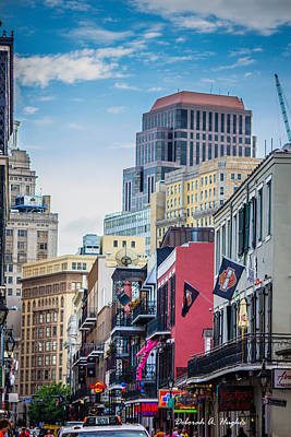 Photograph - Burbon Street by Deborah Hughes