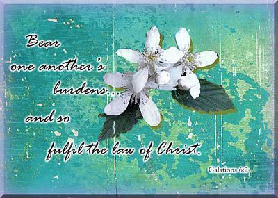 Burden Bearers Art Print by Larry Bishop