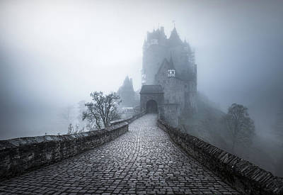 Old Fort Photograph - Burg Eltz by Philip Slotte
