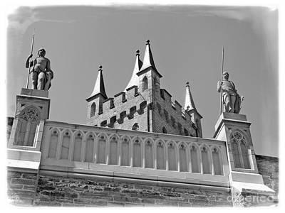 Art Print featuring the photograph Burg Hohenzollern by Carsten Reisinger