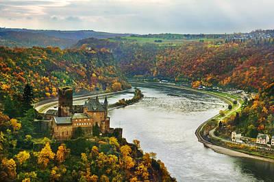 Burg Katz-rhine Original by John Galbo