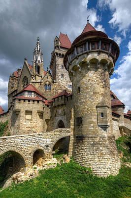 Photograph - Burg Kreuzenstein  by Oleksandr Maistrenko