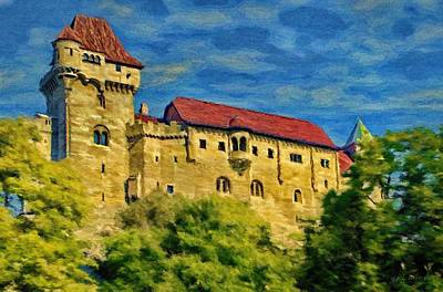 Painting - Burg Liechtenstein by Jeffrey Kolker