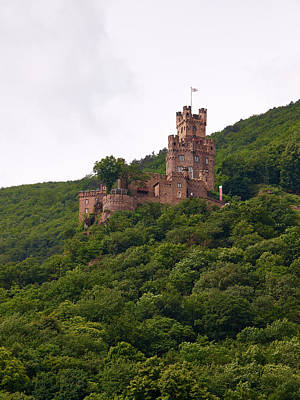 Burg Sooneck Am Rhine Art Print