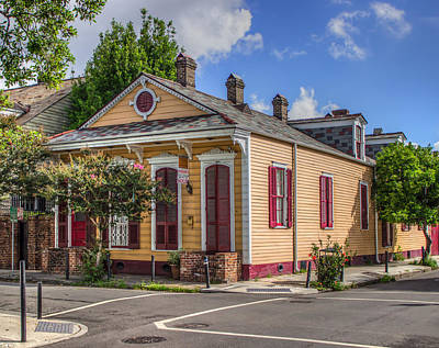 Creole Cottage Wall Art - Photograph - Burgandy And St. Ann by Capt Gerry Hare