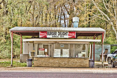 Local Food Photograph - Burger Delight by Scott Pellegrin