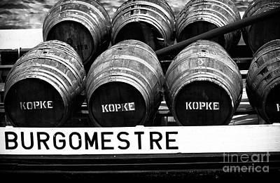 Wine Barrel Photograph - Burgomestre by John Rizzuto