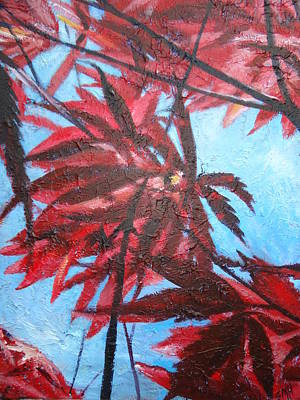 Painting - Burgundy Beauty by Sheila Holland