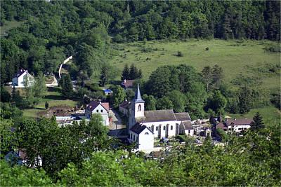 Photograph - Burgundy Village by Gene Norris