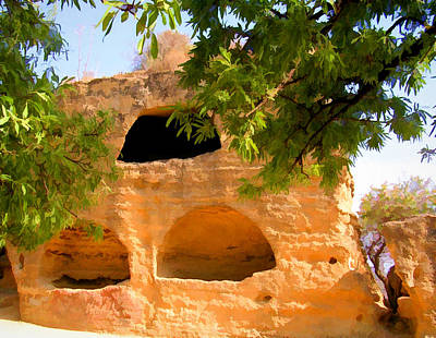Photograph - Burial Crypt In Agrigento by Caroline Stella