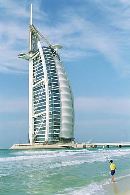 Dhow Photograph - Burj Al-arab by Mark Thomas/science Photo Library