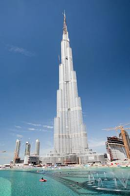 Expensive Photograph - Burj Dubai by Ashley Cooper