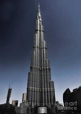 Photograph - Burj Khalifa 3 by Graham Taylor