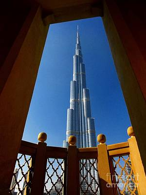 Art Print featuring the photograph Burj Khalifa by Henry Kowalski