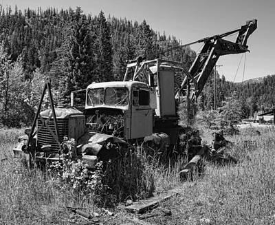 Burke Idaho Logging Truck 2 Art Print