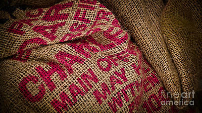 Photograph - Burlap Bag by Colleen Kammerer