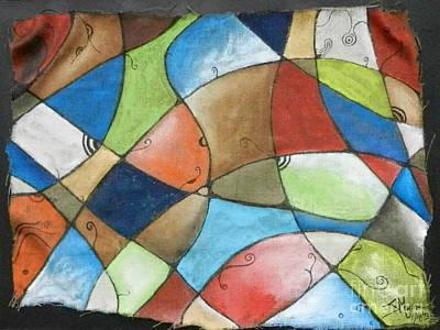 Painting - Burlap by Juan Molina